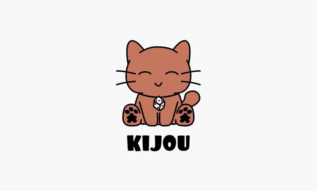 Logo mascotte chat